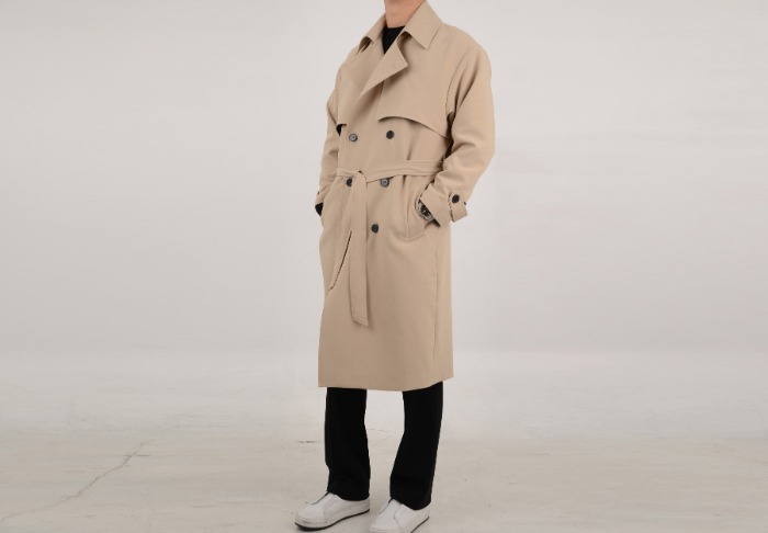 Dior.st clean trench coat