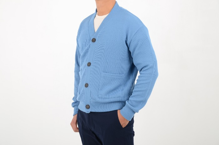 loosefit basic cardigan