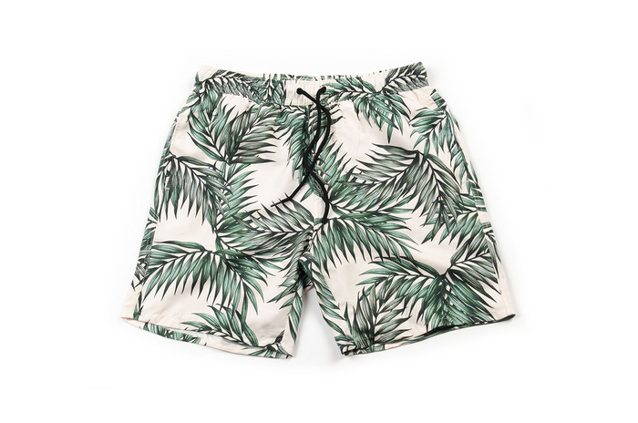 swim pants_green leaf