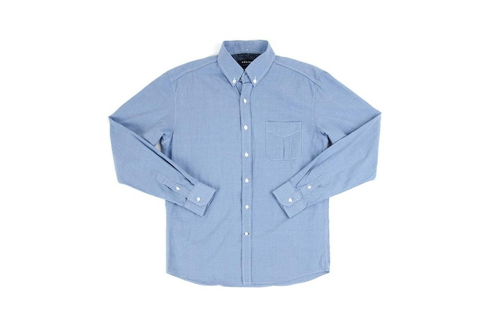 densed gingham shirt