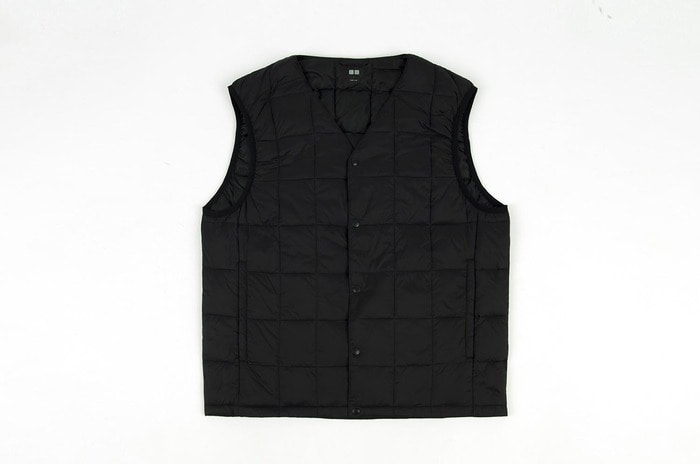 compact padded vest
