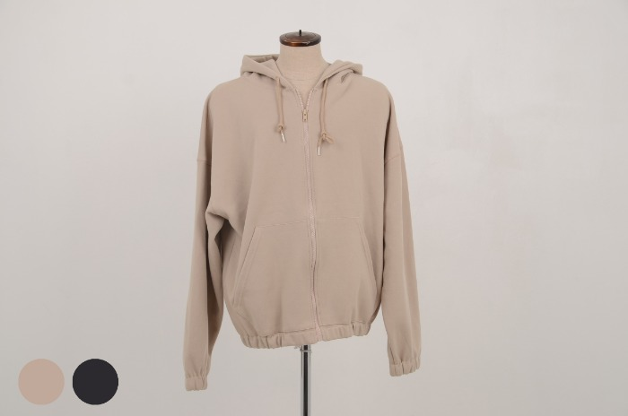 deand Milli training hoodie zip-up